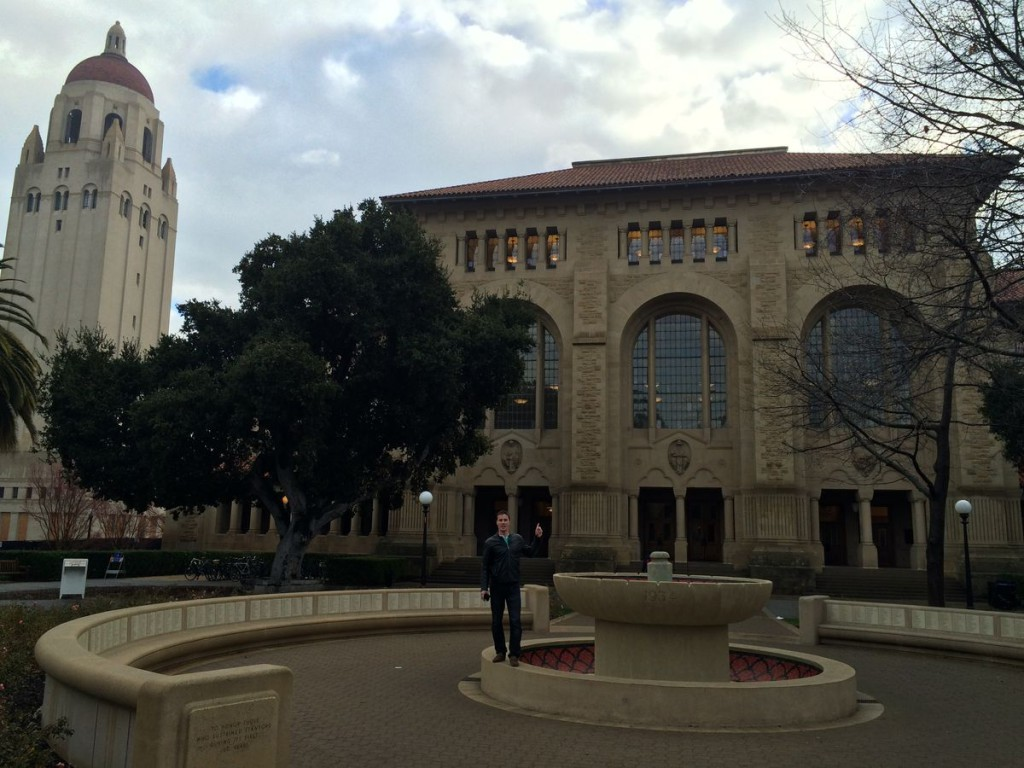 Stanfordská knihovna
