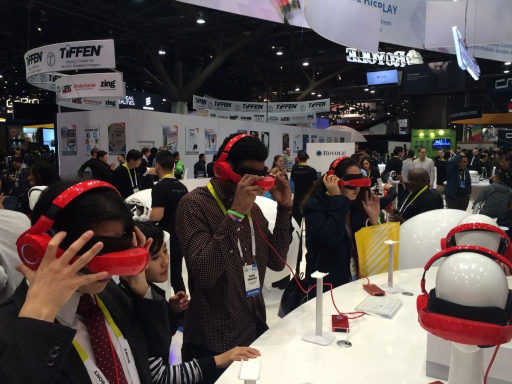 Virtuální realita CES 2016