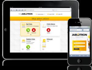 Mobilní aplikace Jablotron
