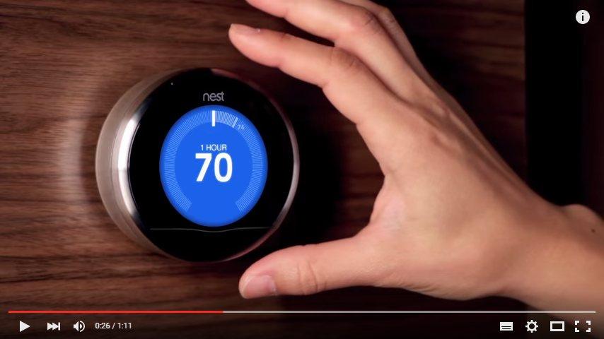 Seznámení s termostatem Nest